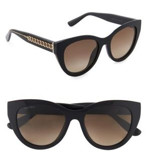 Jimmy Choo Chana cat eye sunglasses NEW